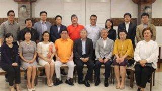 주필리핀 한동만 대사 세부 방문, 동포간담회 개최