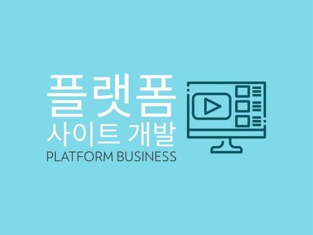홈페이지 제작, 솔루션, 플랫폼 웹사이트 전문개발