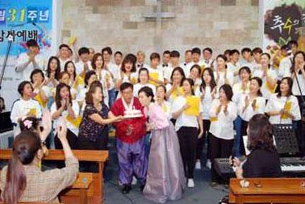 한인성당 체육대회, 친목 커뮤니티 국수나눔, 시부한인교회