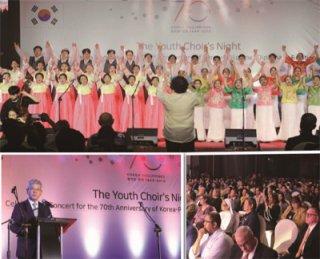 한-필 수교 70주년 기념 청소년 합창 공연