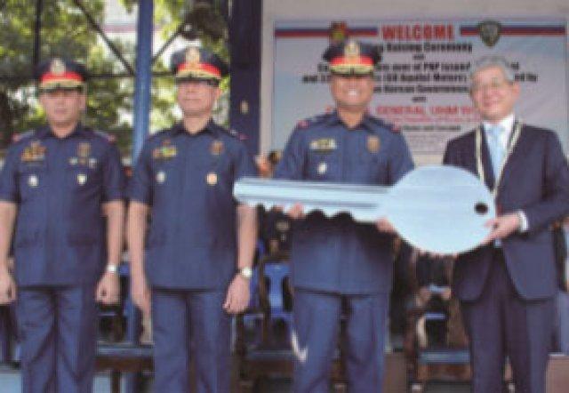 '필리핀 경찰 역량 강화 프로젝트' 일환, 한국산 오토바이 33대 PRO7에 인도